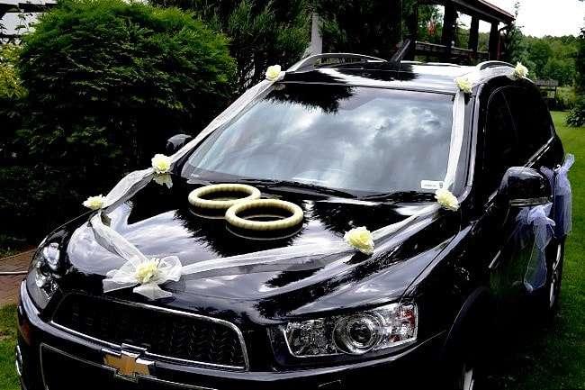 Украшение машины жениха своими руками
