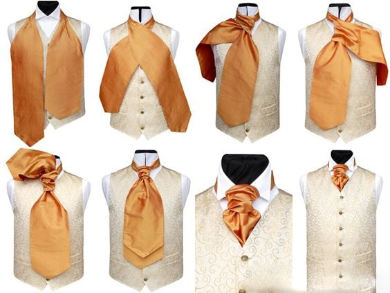 Широкий галстук своими руками 3