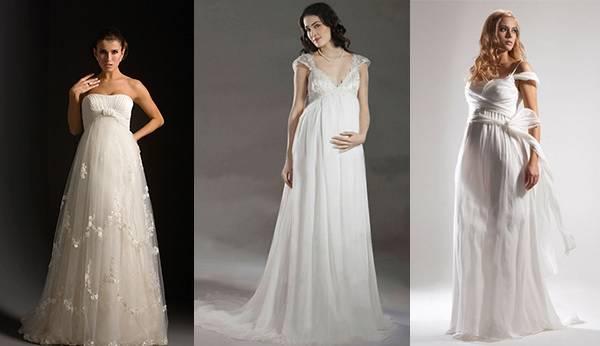 Свадебное платье для будущей мамы: как подобрать идеальную модель?