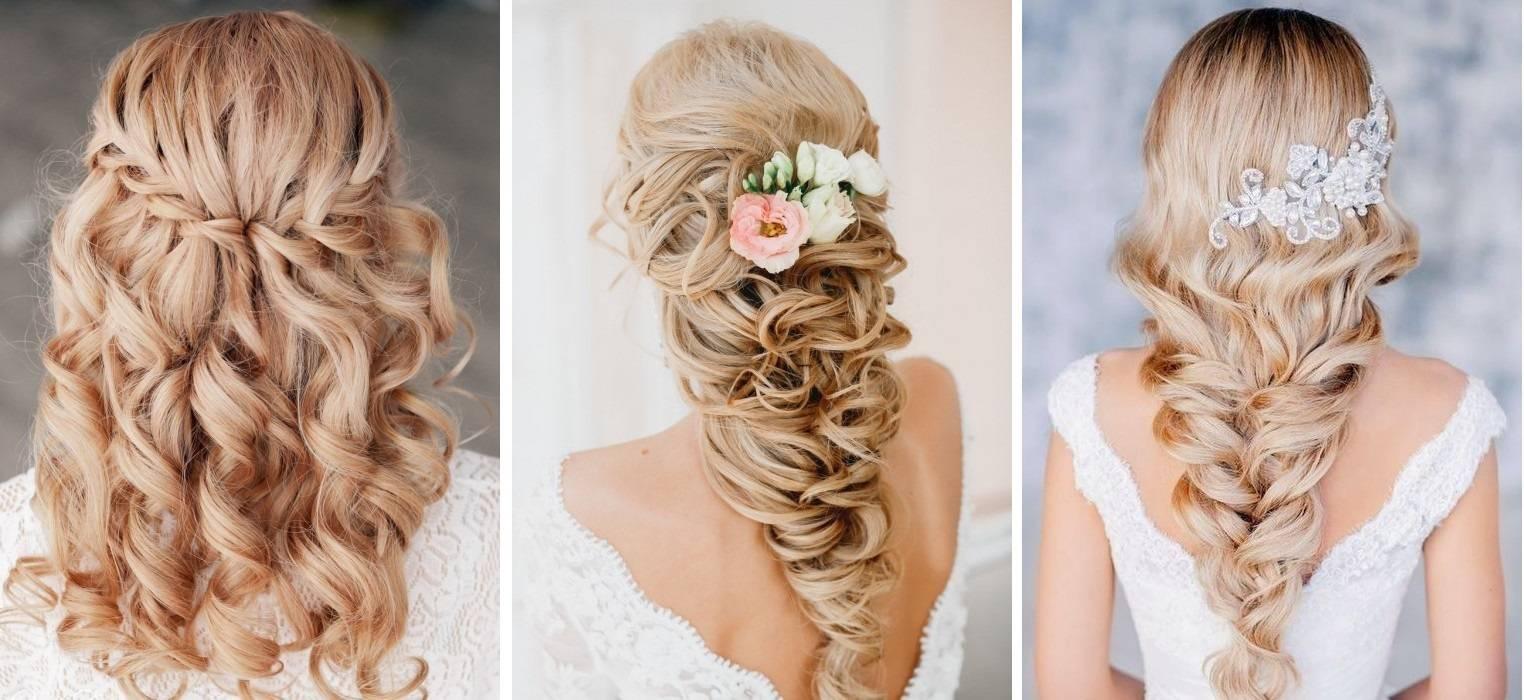 Прически на средние волосы цветок
